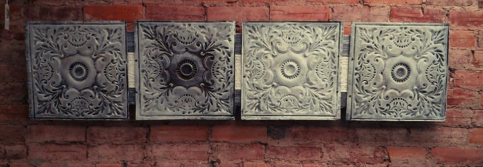 Antique Ceiling Tiles U003d Beautiful Wall Art