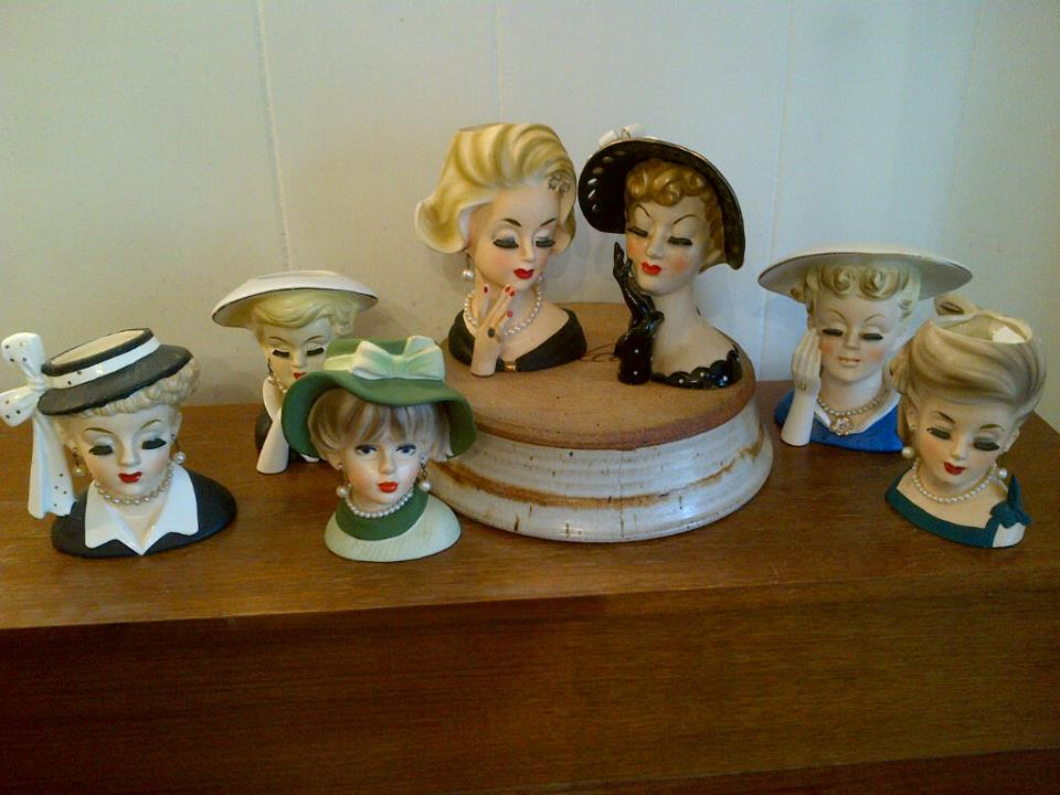 Lady Head Vases So Cool So Chic Vanqart